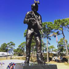 Ready Soldier Bronze Statue Marines