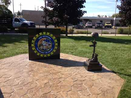 UAW Battle Cross Fallen Soldier memorial
